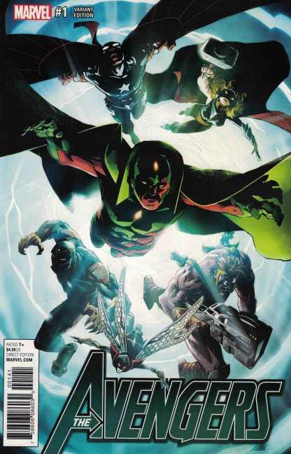 Avengers #1 1:25 Adam Kubert Variant NOW Marvel 2016