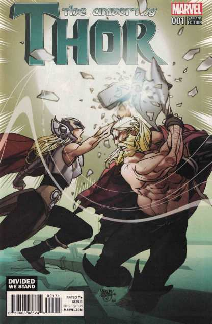 Unworthy Thor #1 Pasqual Ferry Divided We Stand Variant NOW Marvel 2016