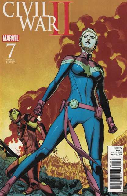 Civil War II #7 1:15 Chris Sprouse Battle Variant ANAD Marvel 2016
