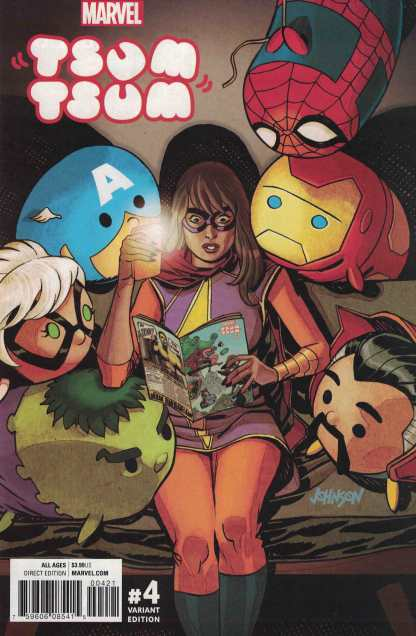 Marvel Tsum Tsum #4 1:25 Dave Johnson Variant 2016
