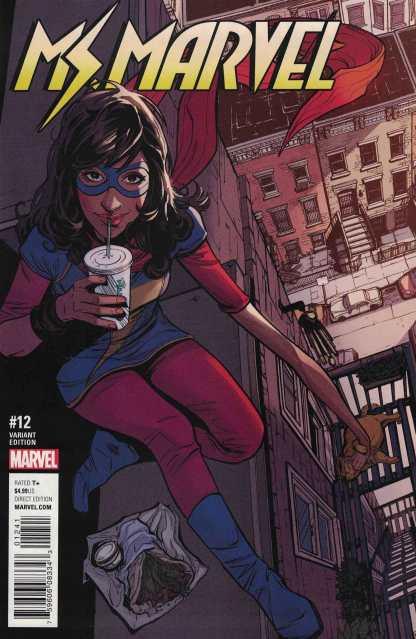 Ms Marvel #12 1:25 Joelle Jones Variant Marvel ANAD 2015