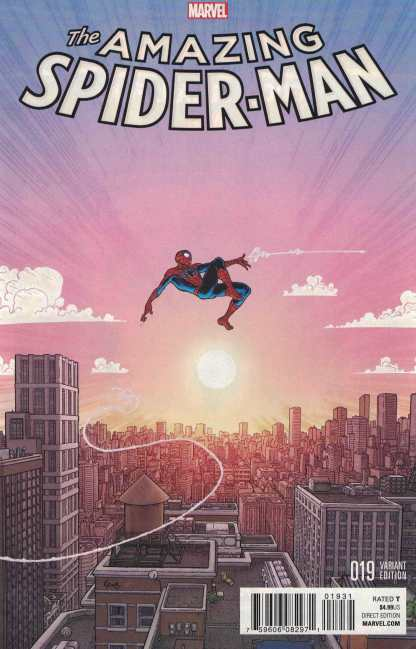 Amazing Spider-Man #19 1:25 Aaron Kuder Variant Marvel ANAD 2015