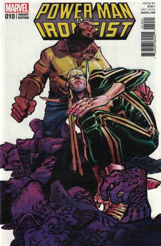 Power Man and Iron Fist #10 1:25 Eric Canete Variant Marvel ANAD 2016