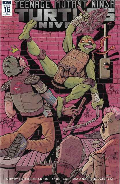 Teenage Mutant Ninja Turtles Universe #16 1:10 Jake Smith Variant IDW 2016