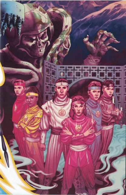 Mighty Morphin Power Rangers #21 1:20 Steve Morris Variant Boom 2017