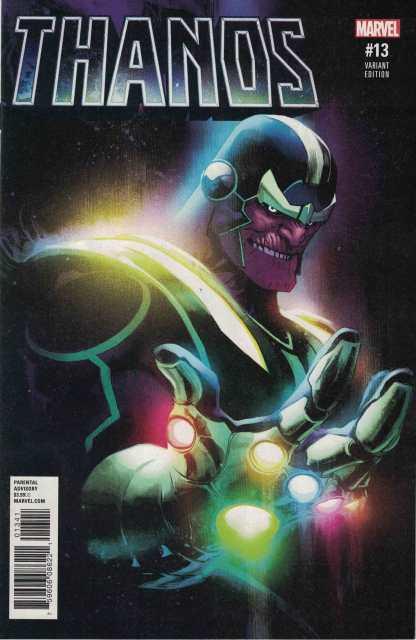 Thanos #13 1:25 Albuquerque First Cosmic Ghost Rider Variant Marvel 2016