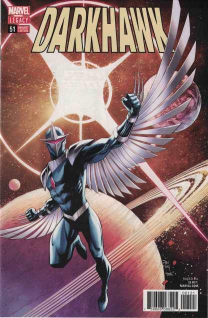 Darkhawk #51 1:25 Dan Mora Variant Marvel Legacy