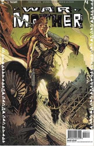 War Mother #4 1:10 Jimbo Salgado Valiant Variant 2017