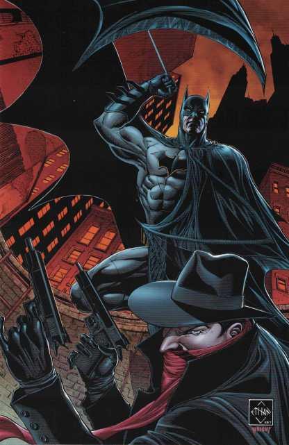 Shadow Batman #1 1:20 Van Sciver Virgin Variant Cover J Dynamite 2017