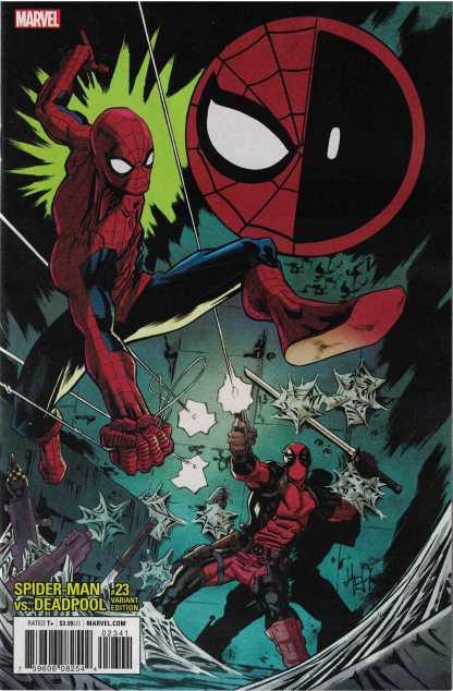 Spider-Man Deadpool #23 1:25 Scott Hepburn Variant Marvel Legacy