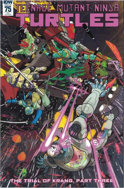 Teenage Mutant Ninja Turtles Ongoing #75 1:10 Ben Bates Variant IDW RI TMNT
