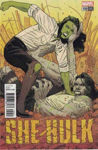She-Hulk #159 1:25 Bilquis Evely Variant Marvel Legacy 2017