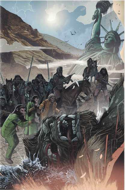 Kong on the Planet of the Apes #1 Carlos Magno Connecting Variant Boom 2017