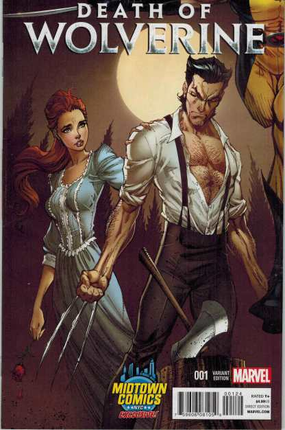 Death of Wolverine #1 Midtown Comics Exclusive Variant