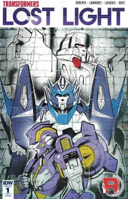 Transformers Lost Light #1 1:10 Sara Pitre-Durocher Variant RI-A IDW 2016