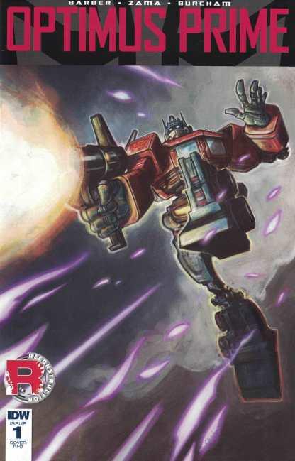 Optimus Prime #1 1:25 Retailer Incentive Variant RI-B IDW Transformers 2016