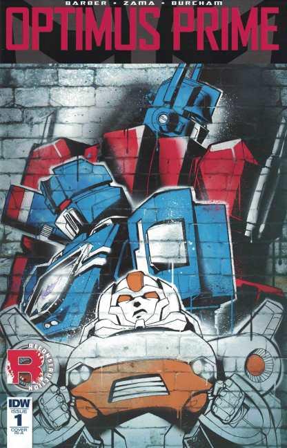Optimus Prime #1 1:10 Retailer Incentive Variant RI-A IDW Transformers 2016