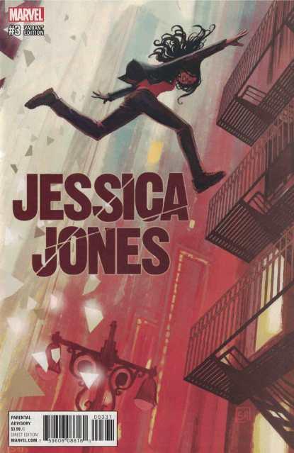 Jessica Jones #3 1:25 Stephanie Hans Variant NOW Marvel 2016