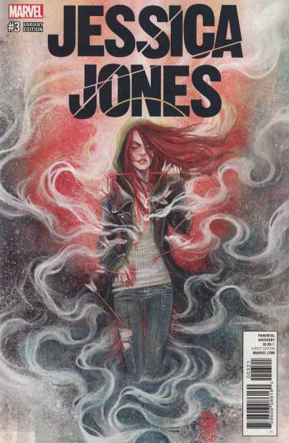 Jessica Jones #3 Nen Chang Variant NOW Marvel 2016