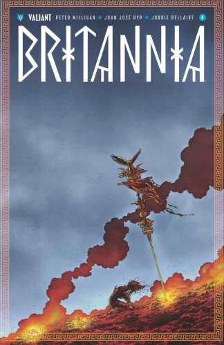 Britannia #4 1:10 Juan Jose Ryp Variant Cover D Valiant 2016