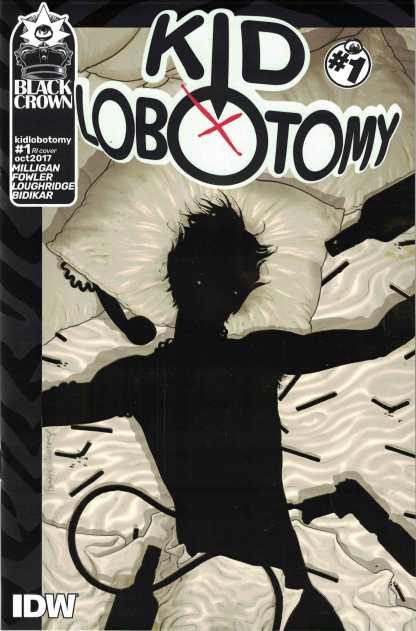 Kid Lobotomy #1 Recalled Gold Foil Variant Black Crown 2017