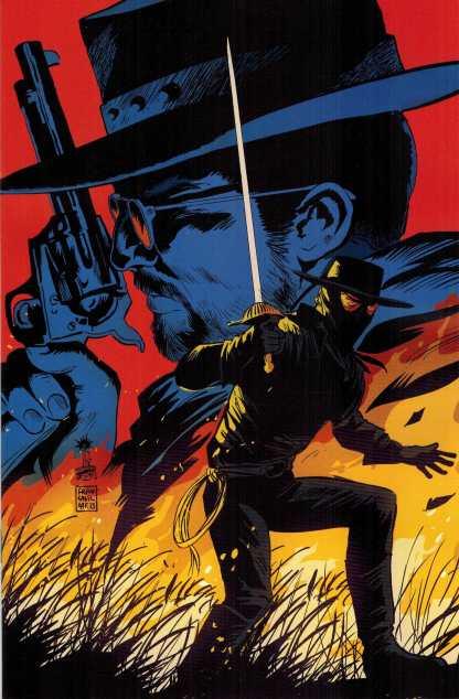 Django Zorro #2 1:15 Francavilla Virgin Art Variant