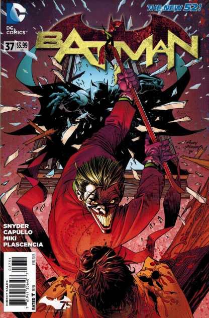 Batman #37 1:25 Andy Kubert Variant Endgame Joker New 52