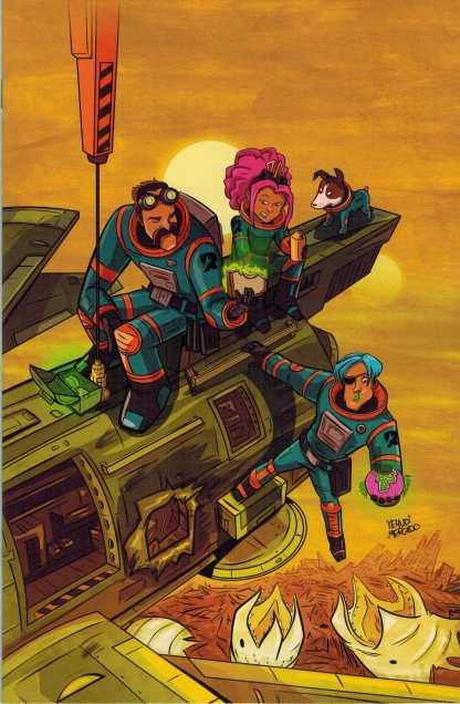 Rocket Salvage #1 1:10 Mercado Variant Archaia