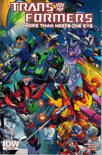 Transformers More Than Meets the Eye #36 1:10 Retailer Incentive Variant RI