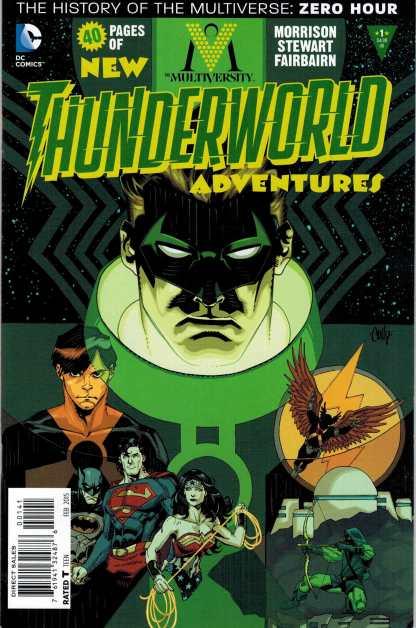Multiversity Thunderworld #1 1:50 Cully Hamner Variant Grant Morrison
