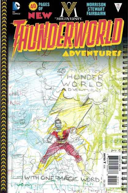 Multiversity Thunderworld #1 1:100 Grant Morrison Sketch Variant DC