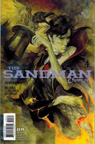 Sandman Overture #4 1:100 JH Williams III Color Variant Neil Gaimen