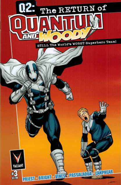 Q2: The Return of Quantum and Woody #3 1:10 Perez Variant Valiant