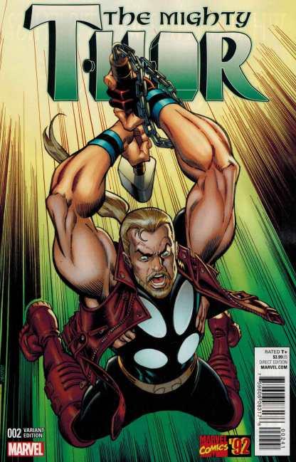 Mighty Thor #2 1:20 Frenz Marvel 92 Variant ANAD 2015