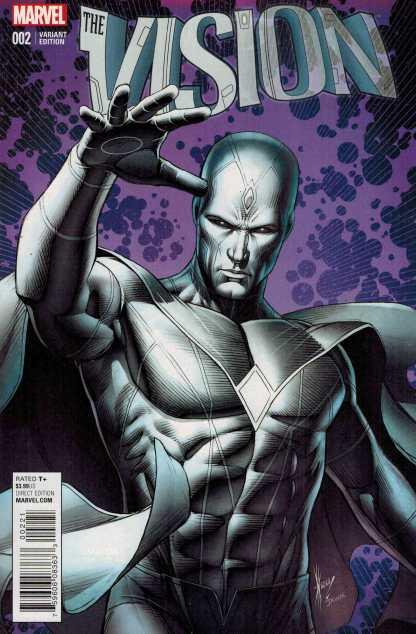 Vision #2 1:25 Dale Keown Variant Marvel ANAD 2015