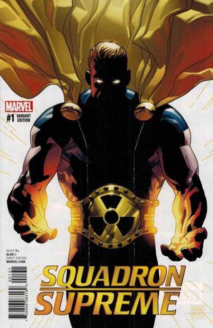 Squadron Supreme #1 1:25 Kirk Variant Marvel ANAD 2015