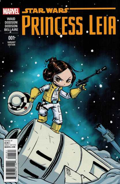 Star Wars Princess Leia #1 Skottie Young Connecting Marvel Babies Variant 2015