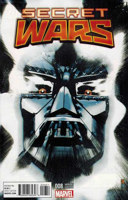 Secret Wars #8 1:25 Tomm Coker Variant Marvel 2015 Doctor Doom