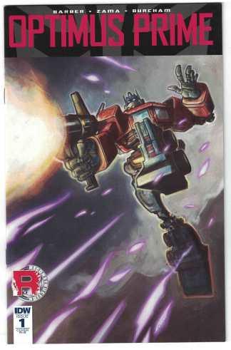 Optimus Prime #1 1:25 Retailer Incentive Variant RI-B Transformers 2016 VF/NM