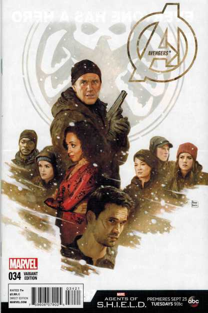 Avengers #34 NOW Agents of SHIELD Variant S.H.I.E.L.D.