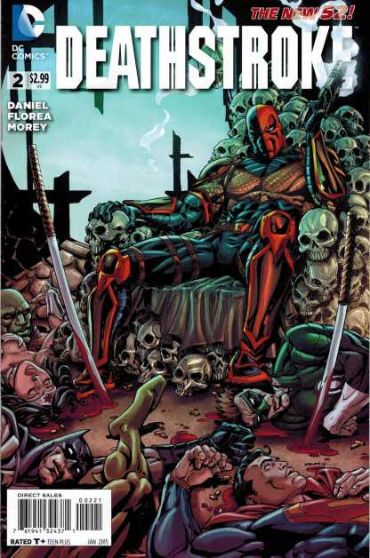Deathstroke #2 (2014) 1:25 Bart Sears Variant