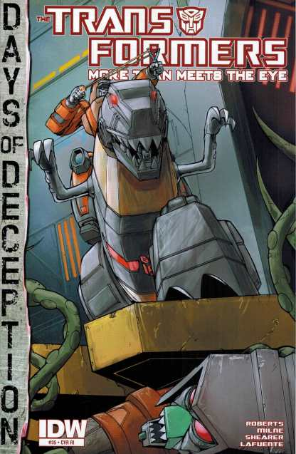 Transformers More than Meets the Eye #35 1:10 Retailer Incentive Variant RI