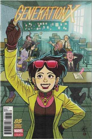 Generation X #85 1:25 Afu Chan Variant Marvel Legacy