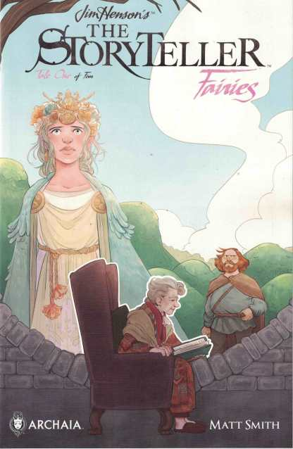 Jim Henson Storyteller Fairies #1 Sas Milledge Subscription Variant Boom
