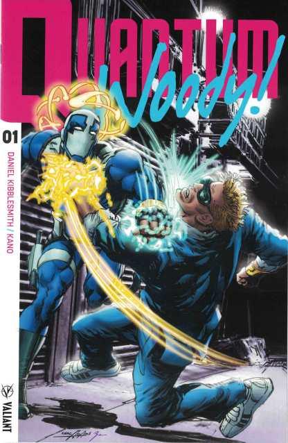 Quantum & Woody #1 1:50 Neal Adams Icon Valiant Variant 2017