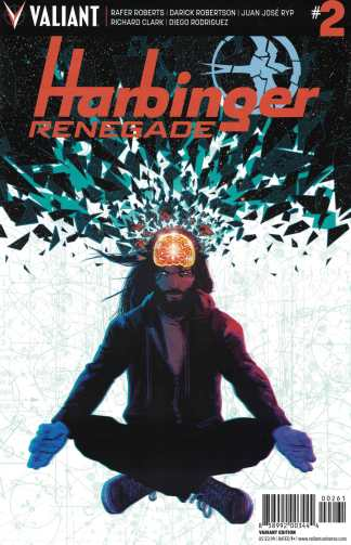 Harbinger Renegade #2 1:20 Kano Variant Cover F Valiant 2016