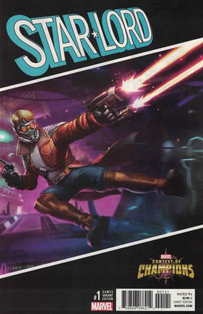 Star-Lord #1 1:10 Contest of Champions Games Variant NOW Marvel 2016