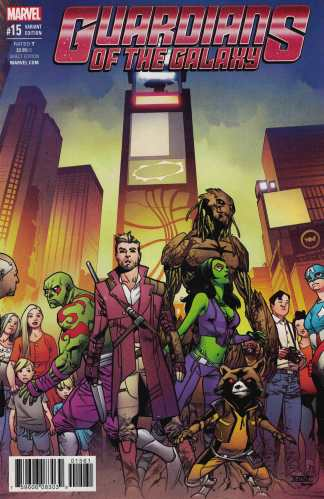 Guardians of the Galaxy #15 1:25 Asrar Variant NOW Marvel 2015