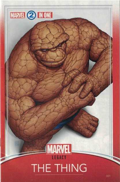 Marvel Two-In-One #1 Unlocked John Tyler Christopher Trading Card Variant Marvel