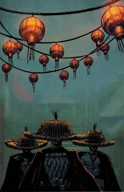 Big Trouble in Little China #7 1:25 Coplan Retailer Incentive Variant HTF